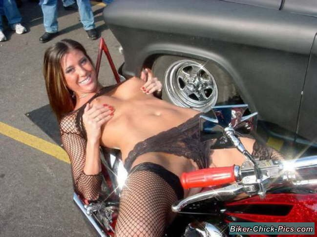 Obviously were Topless biker chick bike week can help