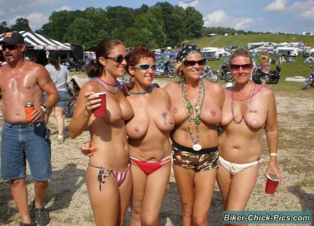 harley party chicks naked