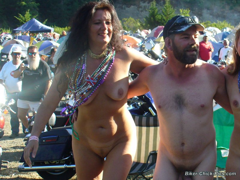 big nude biker boobs