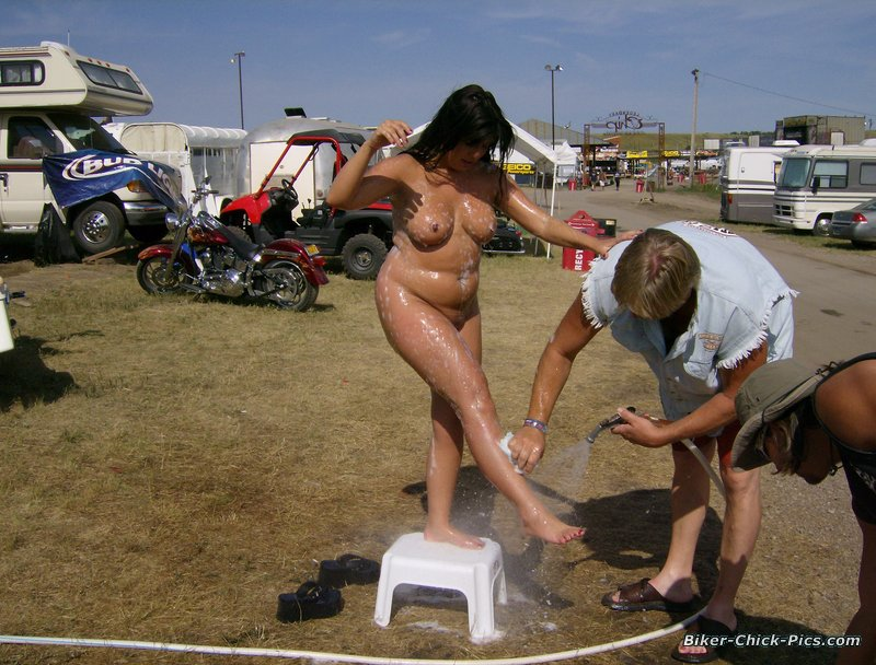 nude girl in sturgis