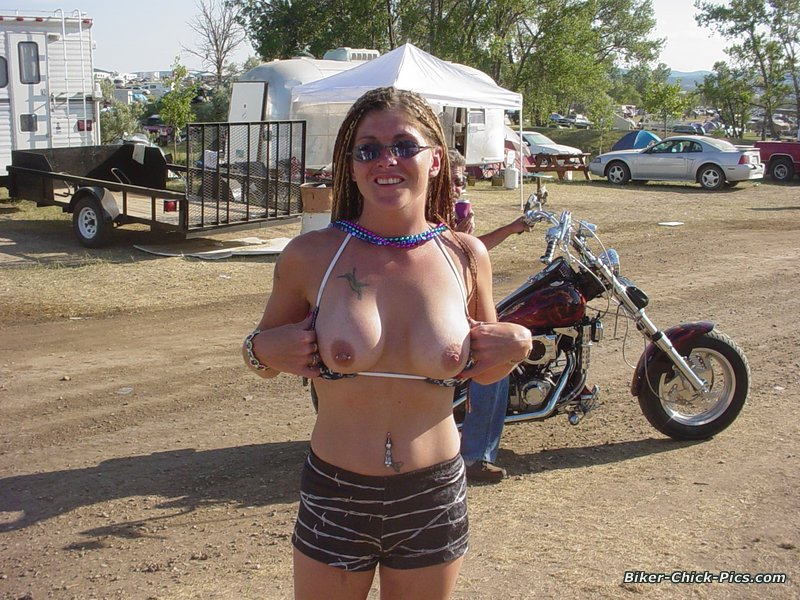 Are not pussy at biker rally opinion