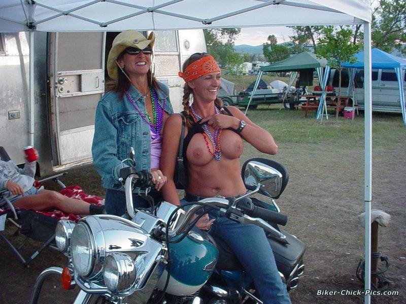 The Sexy Biker Girls Of Sturgis - Last Laugh Group