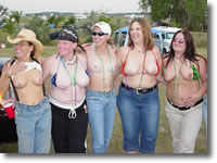 Sturgis Girls Flashing Their Tits