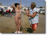 chicks Sturgis nude biker
